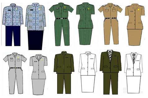 model baju seragam kantor terbaru