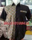 bikin baju seragam kantor batik kombinasi