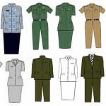 Baju Seragam Kerja Lapangan Pulang Pisau