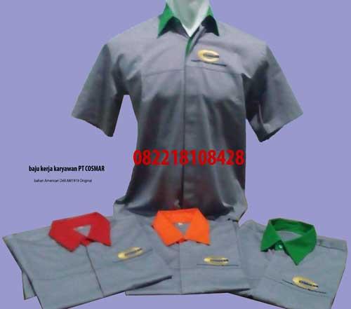 Baju Seragam Kerja Lapangan Bolaang Mongondow Utara