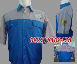 Baju Seragam Kerja Lapangan Sragen Jawa Tengah