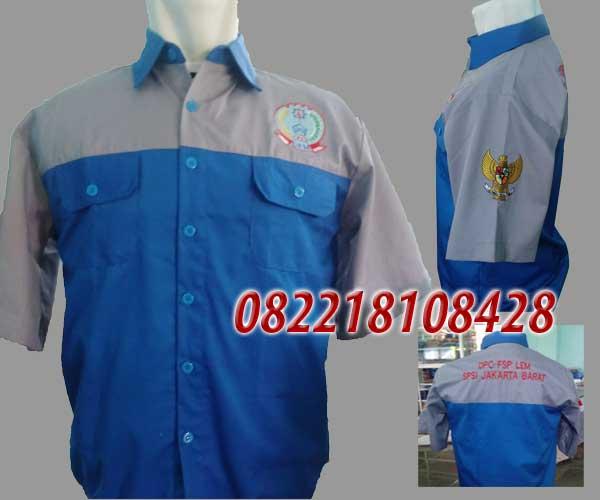 Baju Seragam Kerja Lapangan Cirebon