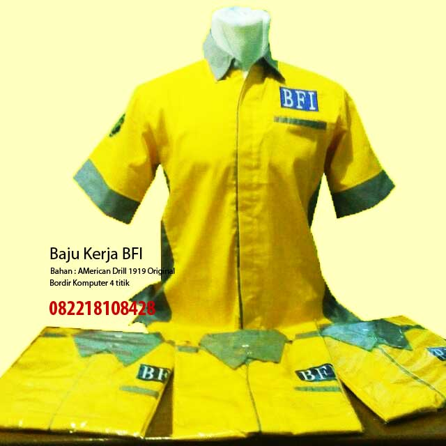 Baju Seragam Kerja Lapangan Fak-fak,  Fak-Fak
