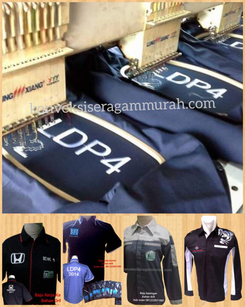 Baju Seragam Kerja Lapangan  Sumba Timur NTT