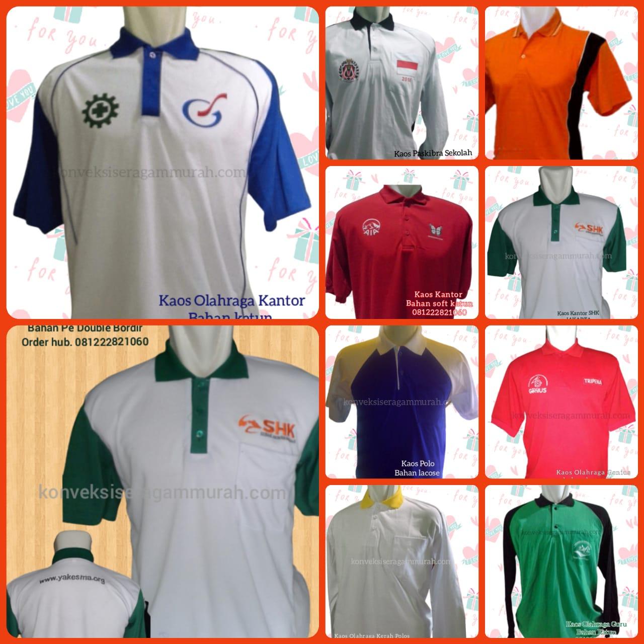 Baju Seragam Kerja Lapangan Bondowoso  Jawa Timur