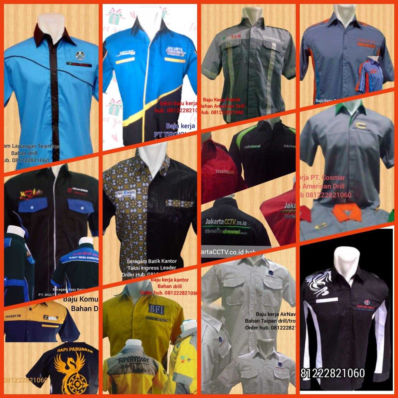 Baju Seragam Kerja Lapangan Kota Pariaman Sumatera Barat