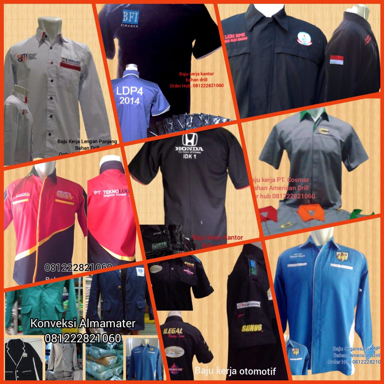 Baju Seragam Kerja Lapangan  Lombok Barat  NTB